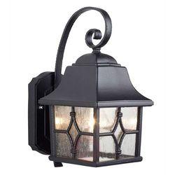 Zewnętrzna LAMPA ścienna KENT KENT Elstead KINKIET klasyczna OPRAWA ogrodowa IP43 outdoor czarna