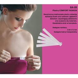 Plastry Julimex Comfort Fashion BA-09 20mm A'20 20mm, transparentny, Julimex