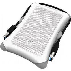 Dysk zewnętrzny Silicon Power ARMOR A30 1TB USB 3.0 WHITE / PANCERNY / wstrząsoodporny