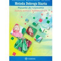 Książki dla dzieci, Metoda dobrego startu.Piosenki do rysowania. Zestaw pomocy dydaktycznych (opr. twarda)