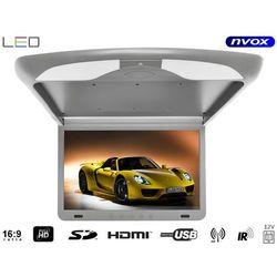 """Monitor podwieszany podsufitowy LCD 17"""" cali LED FULL HD HDMI USB SD IR FM"""