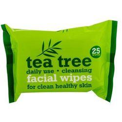 Tea Tree Facial Wipes chusteczki pielęgnacyjne do twarzy (for Clean Healthy Skin) 2x 25 szt.