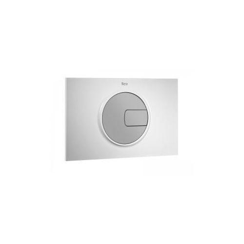 Roca pl4 przycisk 2-funkcyjny, biały/chrom mat a890098005