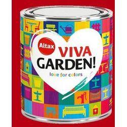 Emalia akrylowa Altax Viva Garden czerwone piwonie 0,75 l