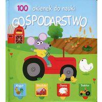 Książki dla dzieci, 100 okienek do nauki. Gospodarstwo (opr. twarda)
