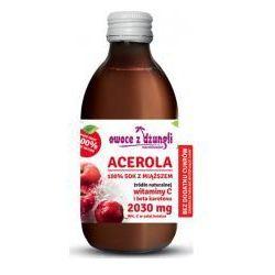 Acerola 100% Sok z Miąższem bez cukru 250 ml Owoce z Dżungli