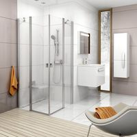 Kabiny prysznicowe, Ravak Chrome 90 x 195 (1QV70C00Z1)