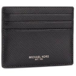 Etui na karty kredytowe MICHAEL MICHAEL KORS - Tall Card Case 39F6LHRD2L Black