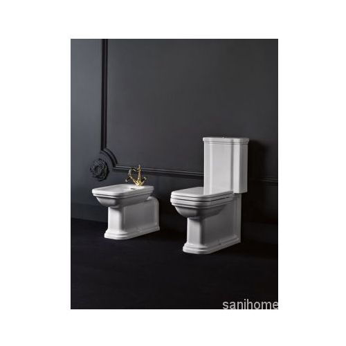 WALDORF miska stojąca ceramiczna WC odpływ pionowy/poziomy 411701, 411701