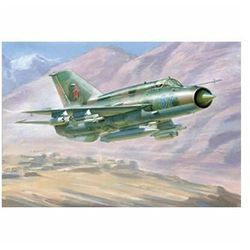 Zvezda mig-21 bis soviet fighter (4600327072597)
