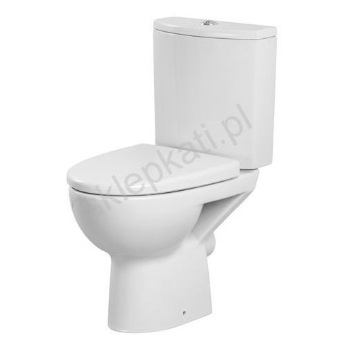 Cersanit parva kompakt wc z deską duroplast, odpływ uniwersalny k27-001