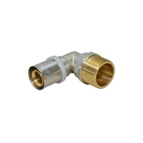 Kolanko 90° zaprasowywane 16mm - gz1/2'' marki Instal complex