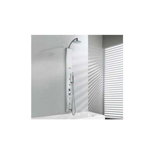 think 2 panel prysznicowy termostat chrom thinkn2vte-b marki Novellini