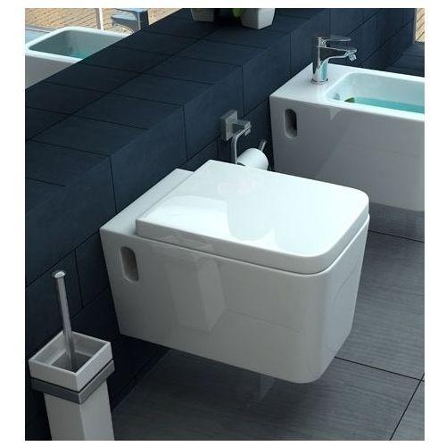 Miska WC wisząca Cubik Lux Cover Rea