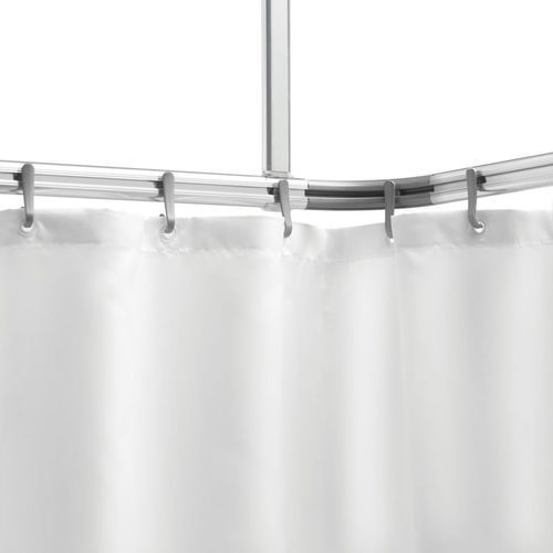 karnisz do zasłony prysznicowej easy roll - zestaw, aluminium marki Sealskin