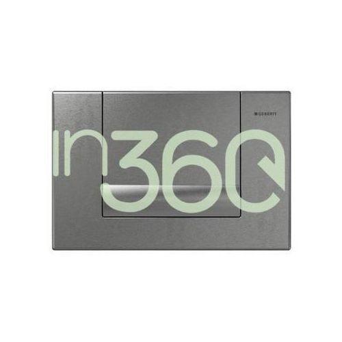 Geberit tango przycisk uruchamiający przedni do spłuczek podtynk. up300, palladium 115.760.hc.1
