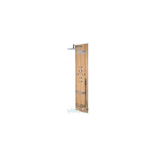 Polysan Panel prysznicowy flat oval 80620