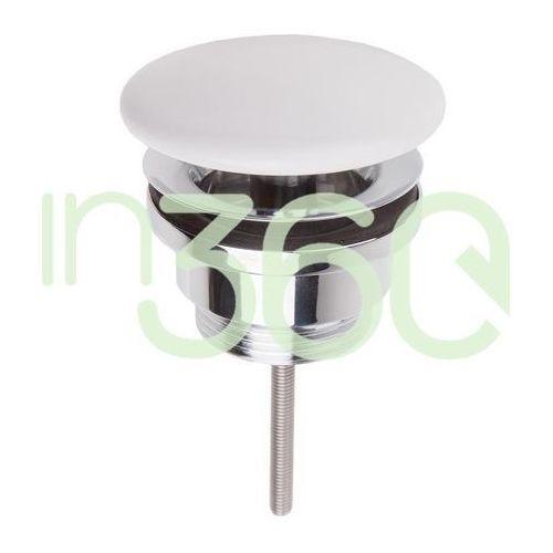 Villeroy & boch niezamykany korek umywalkowy, ceramiczny biały 68090001