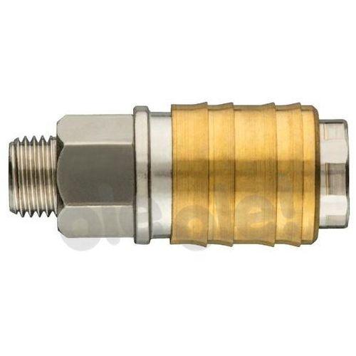 Neo Szybkozłączka do kompresora z gwintem zewnętrznym 1/4 (5907558417920)