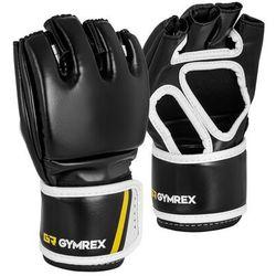 Rękawice mma - rozmiar s/m - czarne marki Gymrex