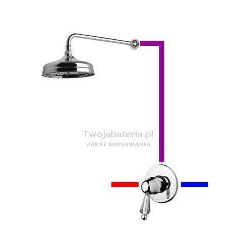 praga kompletny zestaw prysznicowy swarovski przezroczysty swarovski swprup1 marki Giulini giovanni