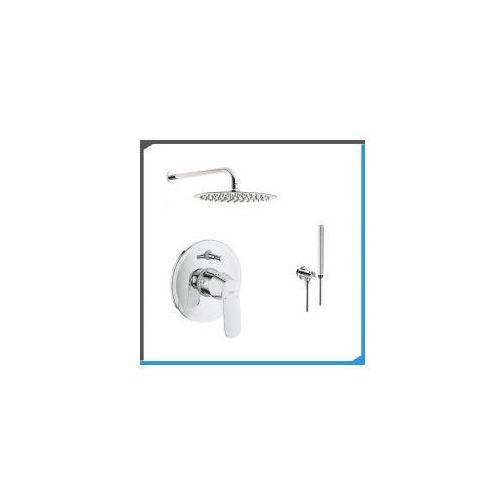 Zestawy Podtynkowy zestaw prysznicowy z baterią grohe eurosmart cosmopolitan 32879000, chrom zest193