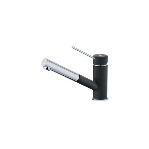 Bateria FRANKE Sirius Top Pull - Out CHROM/ONYX 115.0476.652 wyciągana wylewka