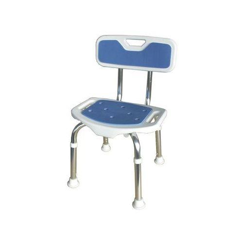 Aston Krzesło prysznicowe z oparciem blue