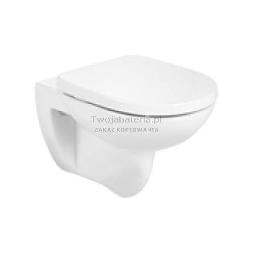 Roca Debba Round miska WC wisząca Rimless z deską WC A34H999000, A34H999000