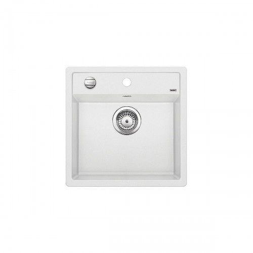 zlewozmywak dalago 5 biały z korkiem automatycznym 518524 marki Blanco