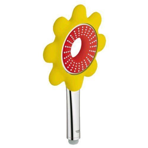 słuchawka prysznicowa, 1 strumień, czerwony/żółty rainshower icon 26115dg0 marki Grohe
