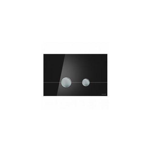 stero przycisk spłukujący, szkło czarne k97-372 marki Cersanit