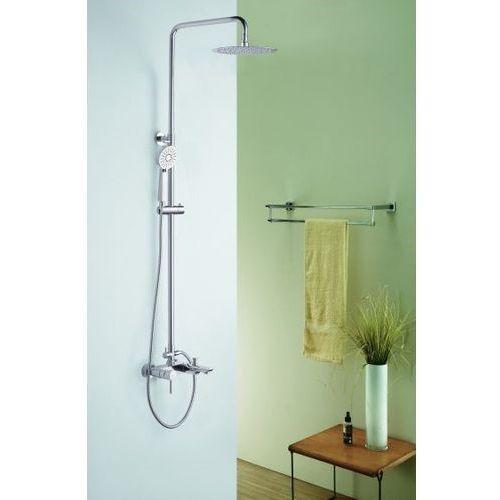 Blue water Zestaw ico-zwpn.500c wannowo-prysznicowy natynkowy (5901730614114)
