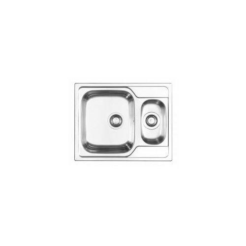 athena zlewozmywak wpuszczany 1,5-komorowy 62x50cm, stal len 101230201 marki Pyramis