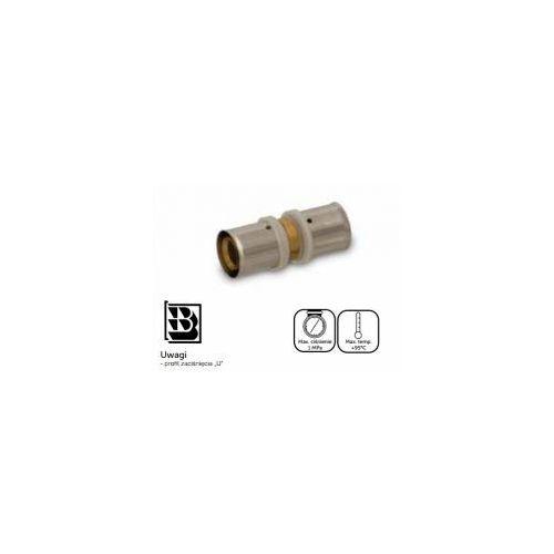 Złączka prosta zaprasowywana 20 x 20mm 1 mpa pexszz20.4031 pexszz204031 idmar group marki Idmargroup