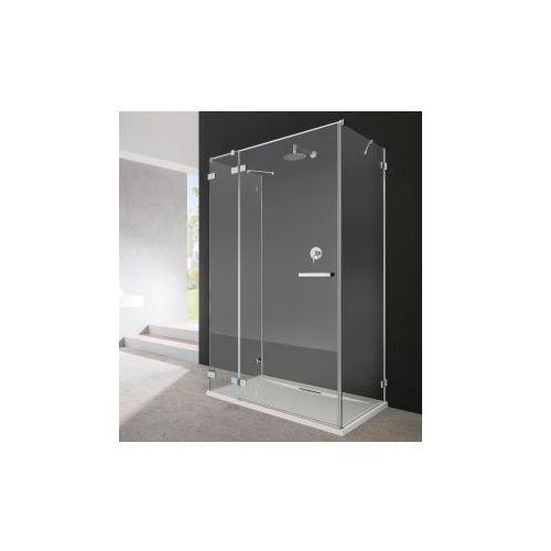 Radaway Radaway euphoria kdj+s drzwi prysznicowe 110 lewe szkło przejrzyste 383023-01l 100 x 110 (383023-01L/383052-01/383032-01)