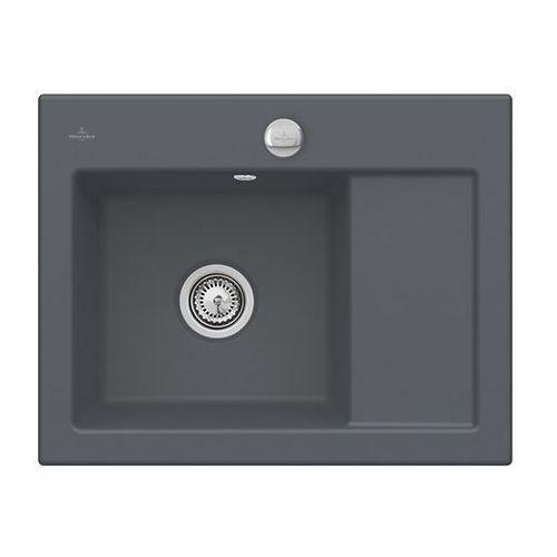 Zlew ceramiczny subway 45 compact - i4 graphit \ lewa \ automatyczny marki Villeroy & boch