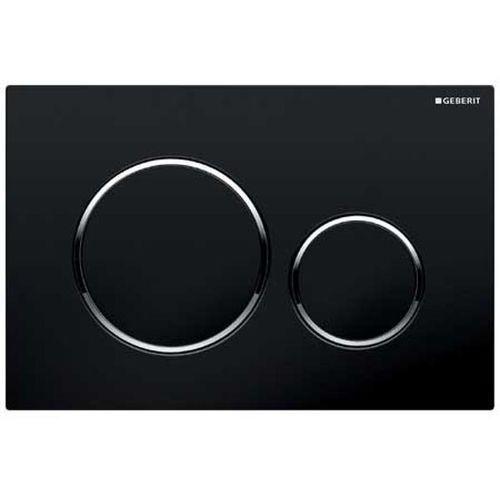 Geberit sigma20 przycisk uruchamiający czarny/chrom błyszczący/czarny 115.882.km.1
