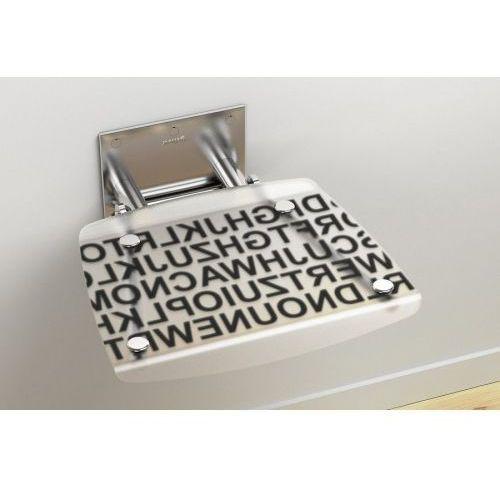 Ravak siedzisko prysznicowe Ovo B Text B8F0000030
