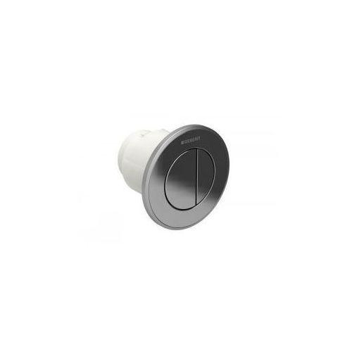 Geberit hytouch pneumatyczny przycisk uruchamiający wc typ 10, ręczny, podtynkowy, sigma 8cm dwudzielny, chrom-chrom mat 116.056.kh.1