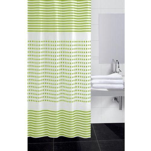 4home Koopman zasłona prysznicowa darja zielony, 180 x 180 cm
