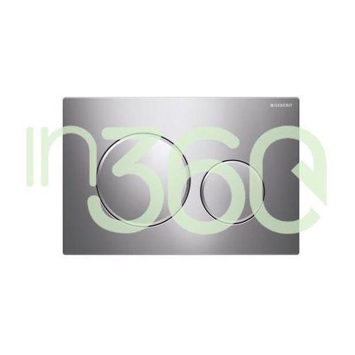Geberit Sigma20 przycisk uruchamiającyprzedni, stal nierdzewna 115.882.SN.1