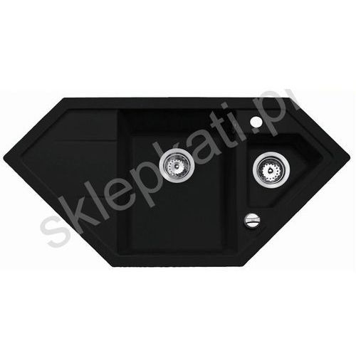 TEKA ASTRAL 70 E-TG zlewozmywak granitowy 1002 x 500 mm, kolor CARBON 40143549