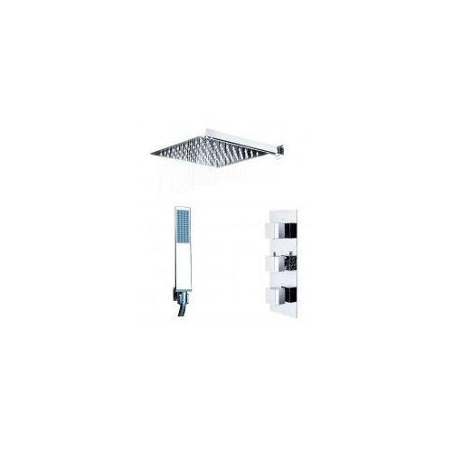 Zestawy Podtynkowy zestaw prysznicowy z rea brito, termostat, chrom zest228