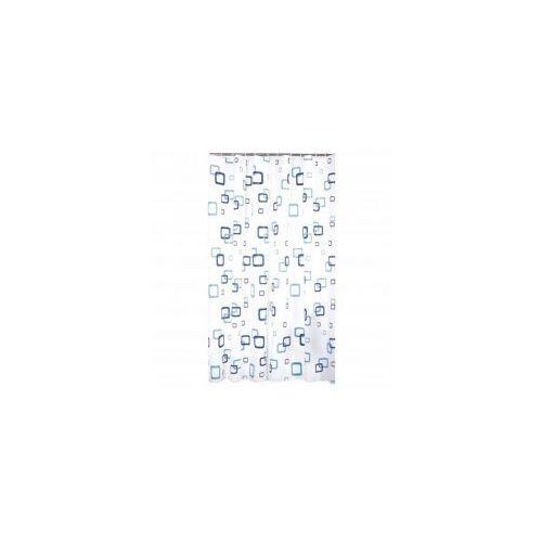 GALICJA Zasłonka prysznicowa 180 x 180 PEVA kwadraty 9930 wz 16