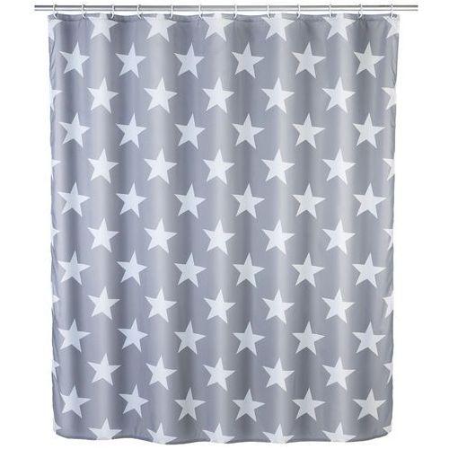 Zasłona prysznicowa Stella, tekstylna, 180x200 cm, WENKO, B06XDBSH63