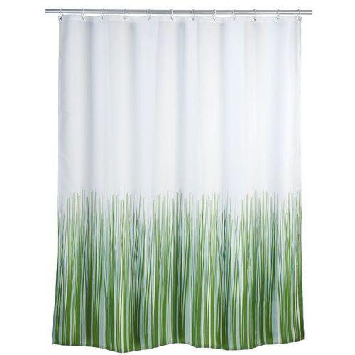 Zasłona prysznicowa, tekstylna, - zasłona z antyplesniowego materiału natura, 180x200 cm, marki Wenko