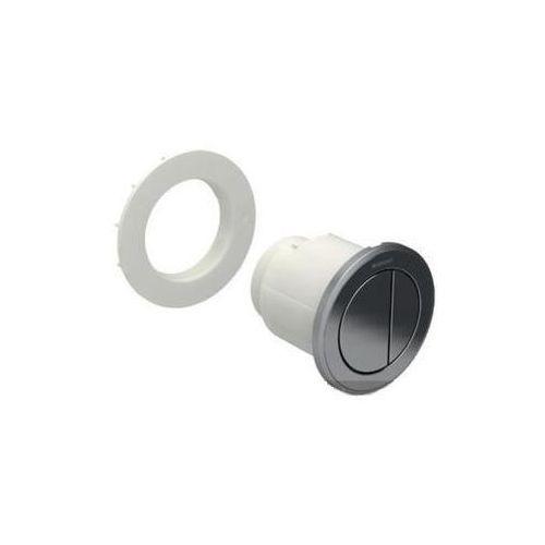 Geberit HyTouch pneumatyczny przycisk uruchamiający WC Typ 10, ręczny, meblowy dwudzielny, chrom-chrom mat 116.057.KH.1