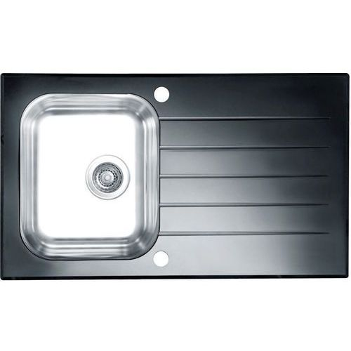 Zlewozmywak ALVEUS Glassix 10 POP-UP 3 1/2 1099450 Satyna-czarny (3838997436574)