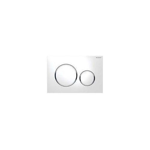 Geberit Sigma20 Przycisk uruchamiający biały/chrom błyszczący/biały 115.882.KJ.1, 115882KJ1
